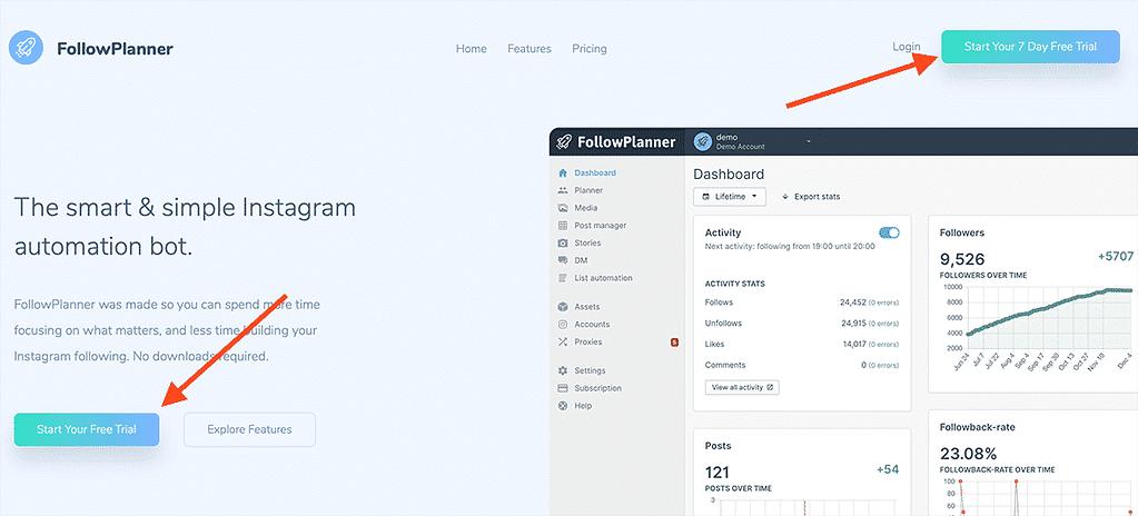 Come usare FollowPlanner guida definitiva + proxy bonus gennaio 2020
