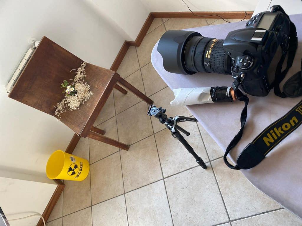 Covid-19 fotografare in casa
